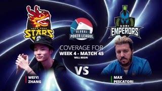 Highlights: GPL Week 5 - Eurasia Conf. Heads-up - Weiyi Zhang vs. Max Pescatori - W5M45