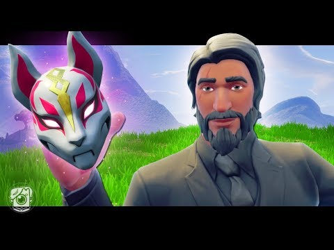 JOHN WICK STEALS DRIFT'S MASK - A Fortnite Short Film