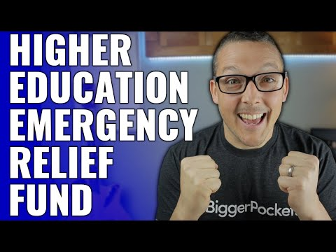 Higher Education Emergency Relief Fund Details