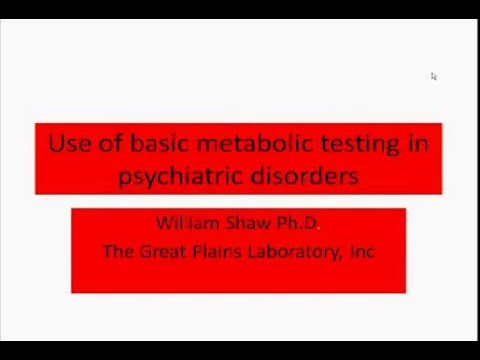 Mental Health Panels & Case Studies by Dr  William Shaw