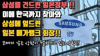 일본 정부 : 한국 경제 공격 삼성의 자금줄을 막겠다! 삼성을 잘못 건드린 일본!