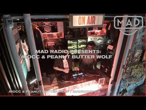 JROCC & PEANUT BUTTER WOLF   / MADRADIO.CO