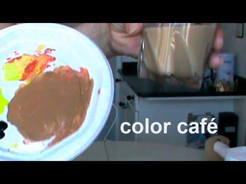 C mo hacer color caf youtube for Como se obtiene el marmol