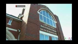 BBC News: Ahmadiyyah Muslim Caliph opens Midlands Mosques