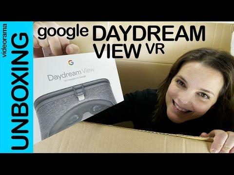 Google Daydream unboxing preview en español | 4K UHD