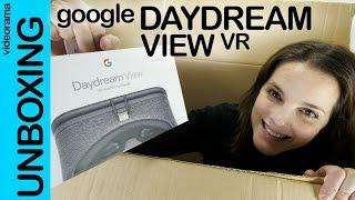 Google Daydream unboxing preview en español   4K UHD