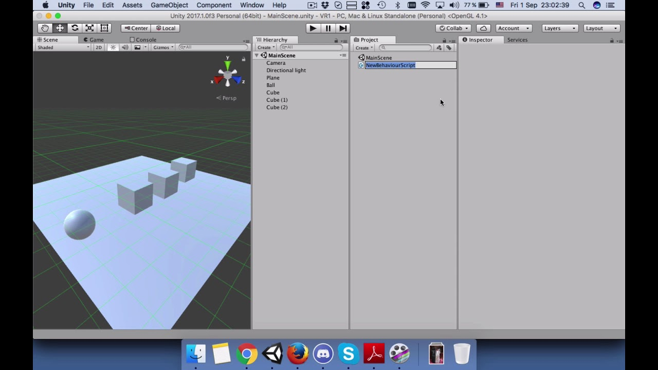 Unity 2017 C# How to push gameObjects by hitting one object using AddForce  function