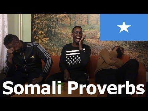 Somali Proverbs Challenge - Somali maah maah