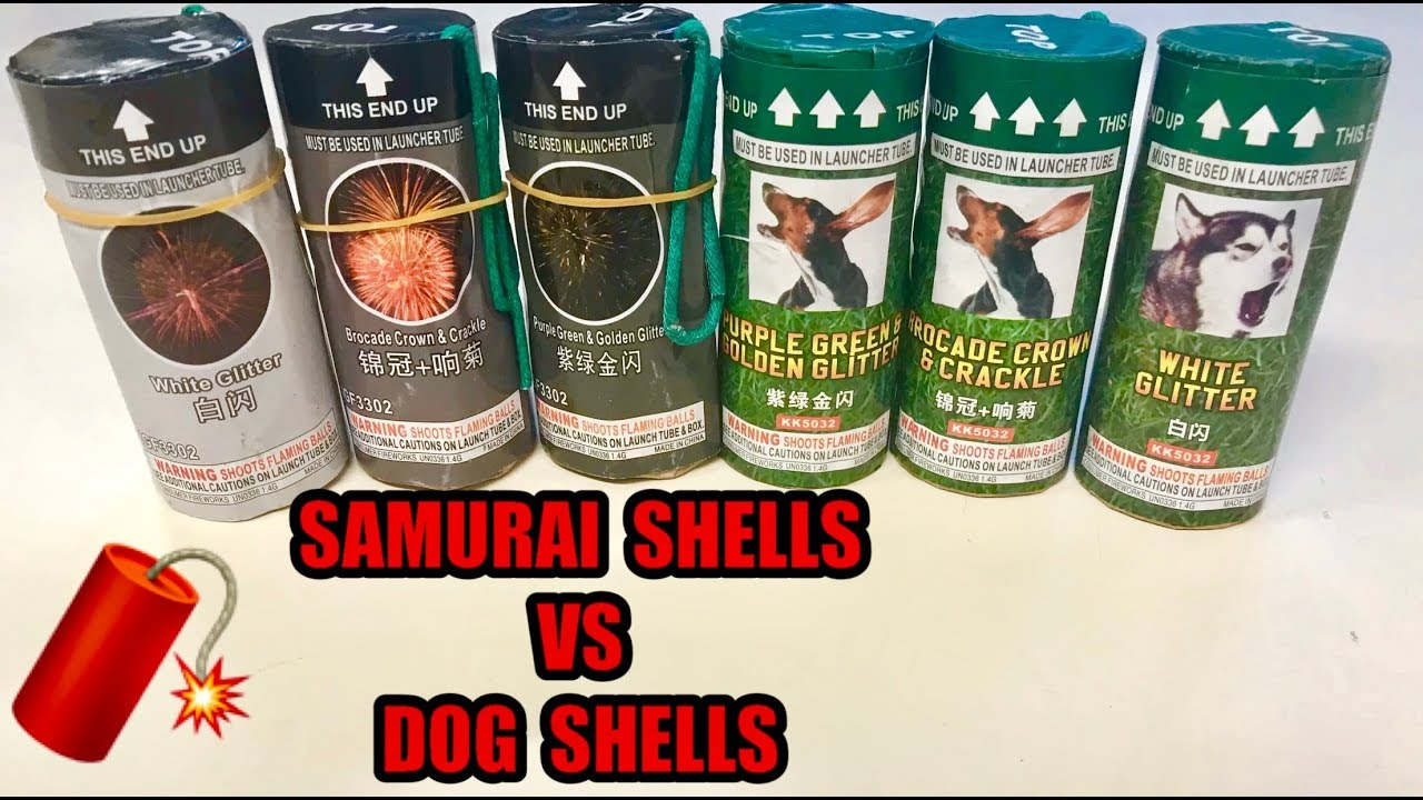 """King of 4"""" Canister Shells!"""