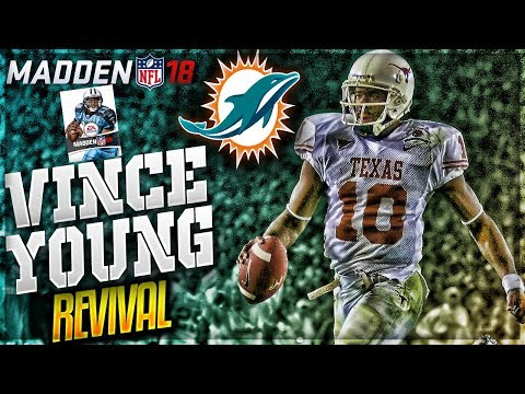 THE RETURN OF VINCE YOUNG!! | VINCE YOUNG MADDEN 18 CAREER MODE REVIVAL