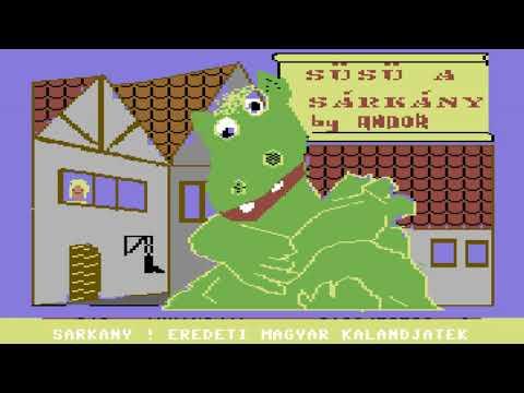 C64 Game: Süsü a Sárkány [Susu the Dragon]
