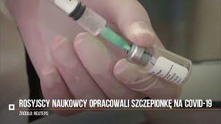 Koronawirus. Rosja ma pierwszą na świecie szczepionkę na COVID-19. Wśród zaszczepionych córka Putina