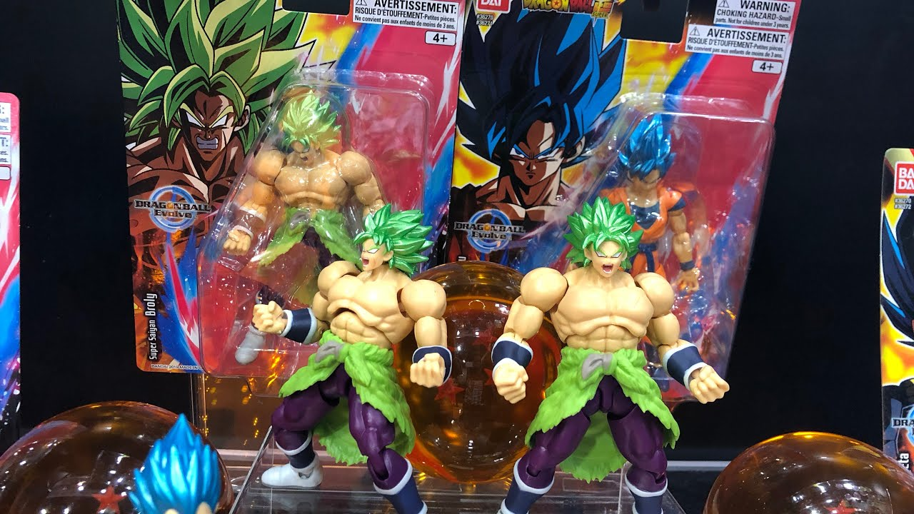 Dragon Ball Super Dragonball Super Saiyan Broly Action Figure 5 inch