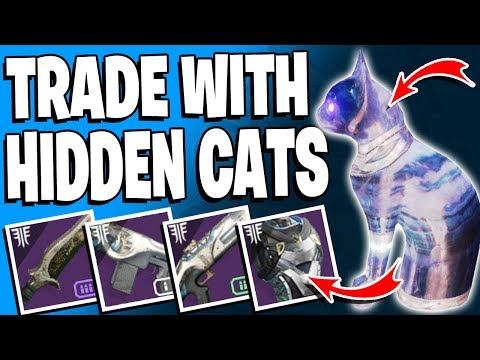 Destiny 2 - Trade With Secret CATS - Locations x3 - Dreaming City Loot / Forsaken