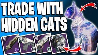 Destiny 2 - Trade With Secret CATS - Locations x3 - Dreaming City Loot / Forsaken