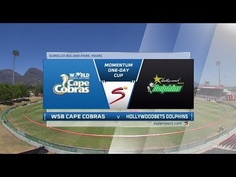 Momentum OneDay Cup 20172018  Cobras vs Dolphins