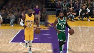 NBA 2K19 Rosters | Celtics vs Lakers | Kyrie vs Lebron (NBA 2K18 PC)