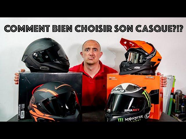 CHOISIR SON CASQUE MOTO!