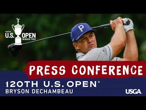 2020 U.S. Open: Bryson DeChambeau Pre-Championship Press Conference