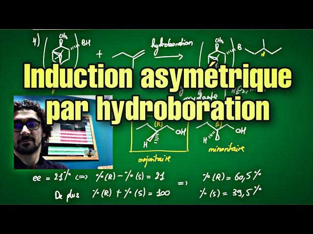 Induction asymétrique par hydroboration : exercice