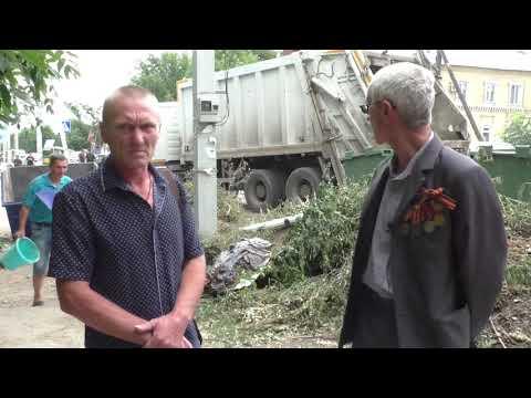 Жители Вольска жалуются Путину на мусор и отраву