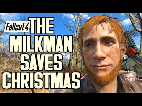 Fallout 4 - How the Milkman Saved Christmas - Great Quest Mod - Full Playthrough
