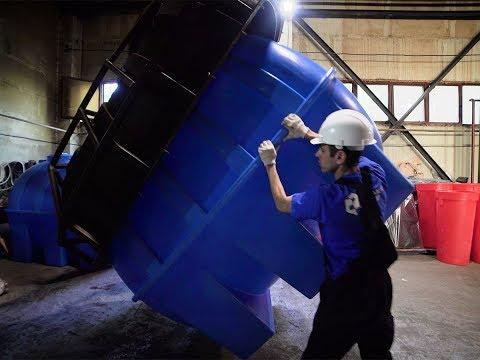 Полимер-Групп - производство бесшовных пластиковых емкостей - Видео о компании