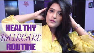 Healthy Haircare Routine + DIY Hair Mask For Dry & Damaged Hair