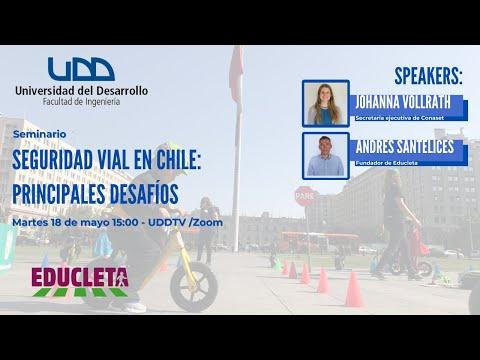 Seminario Seguridad Vial en Chile: Principales desafíos