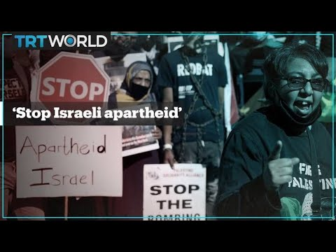 South Africans call out Israel's 'apartheid against Palestinians'