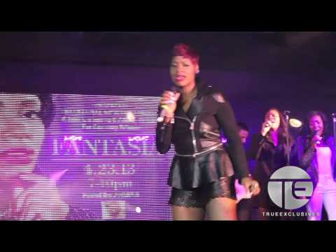 "Fantasia Smashes Impromptu Performance of ""Lose to Win"" at Love Jones Album Release Party"