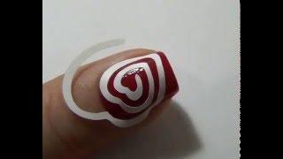Дизайн ногтей с трафаретами Vinylist