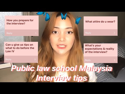 A chatty vlog: UiTM law school interview experience and tips and tricks (law degree)
