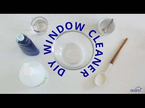 Sears Home Hacks: How to Make a Homemade Glass Cleaner for Window Cleaning