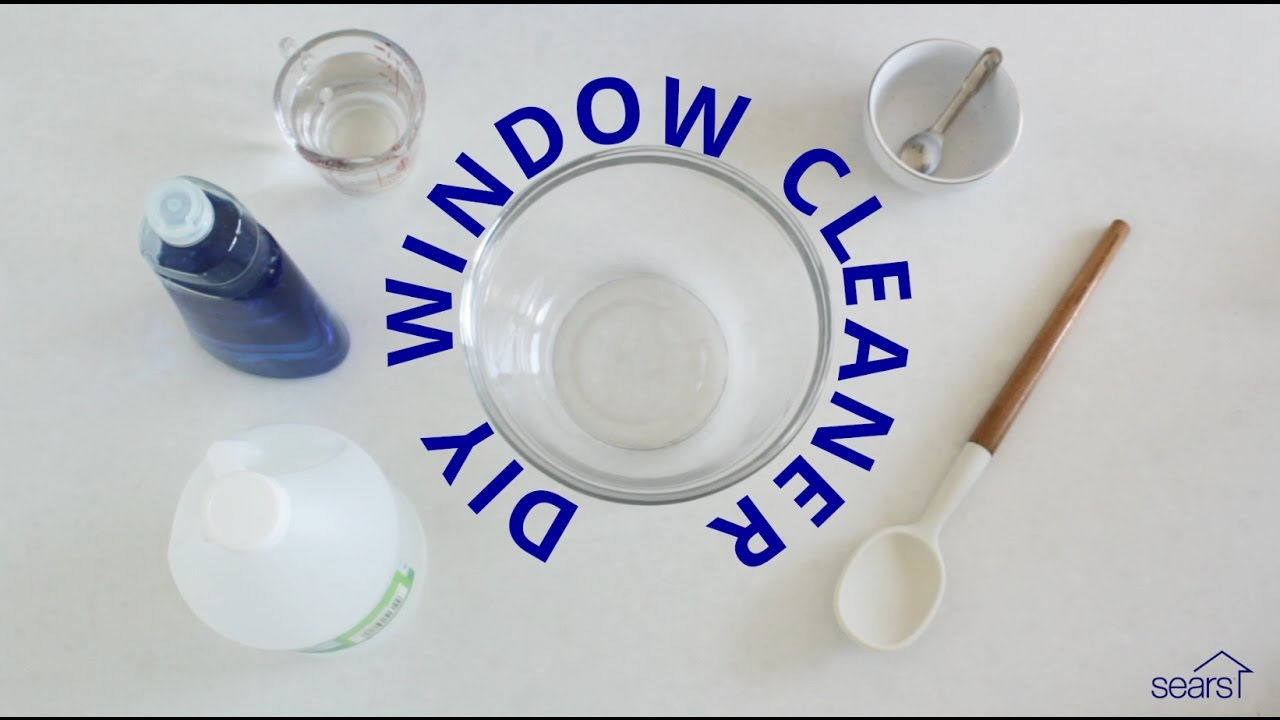 Sears Home Hacks: How to Make a Homemade Glass Cleaner for Window ...