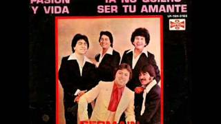 Germain De La Fuente Y Sus Angeles Negros Dos Lineas Paralelas 1980 (disco Completo)