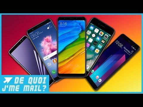 Top 5 : les meilleurs smartphones du moment  DQJMM (2/2)
