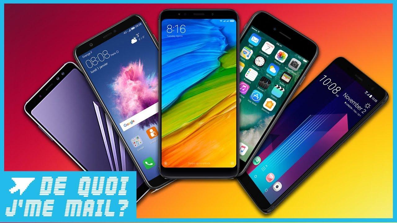 les meilleurs smartphone du moment