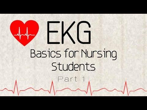 EKG Basics for Nursing Students Part 1