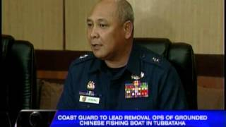 Coast Guard to remove Chinese boat at Tubbataha