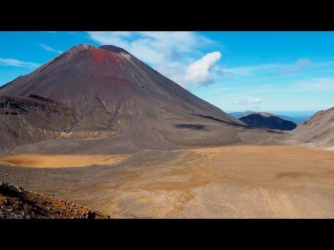 The Big Trip - Tongariro Alpine Crossing - 6th February 2016