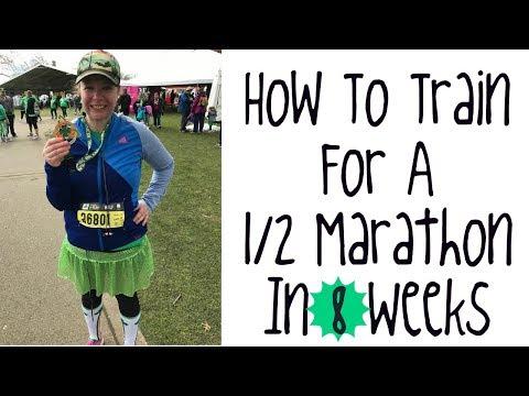 1/2 marathon training in 8 weeks