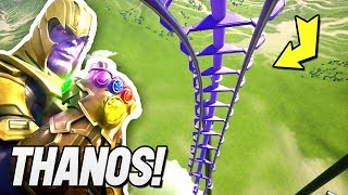 i attempted to build a Thanos Rollercoaster..
