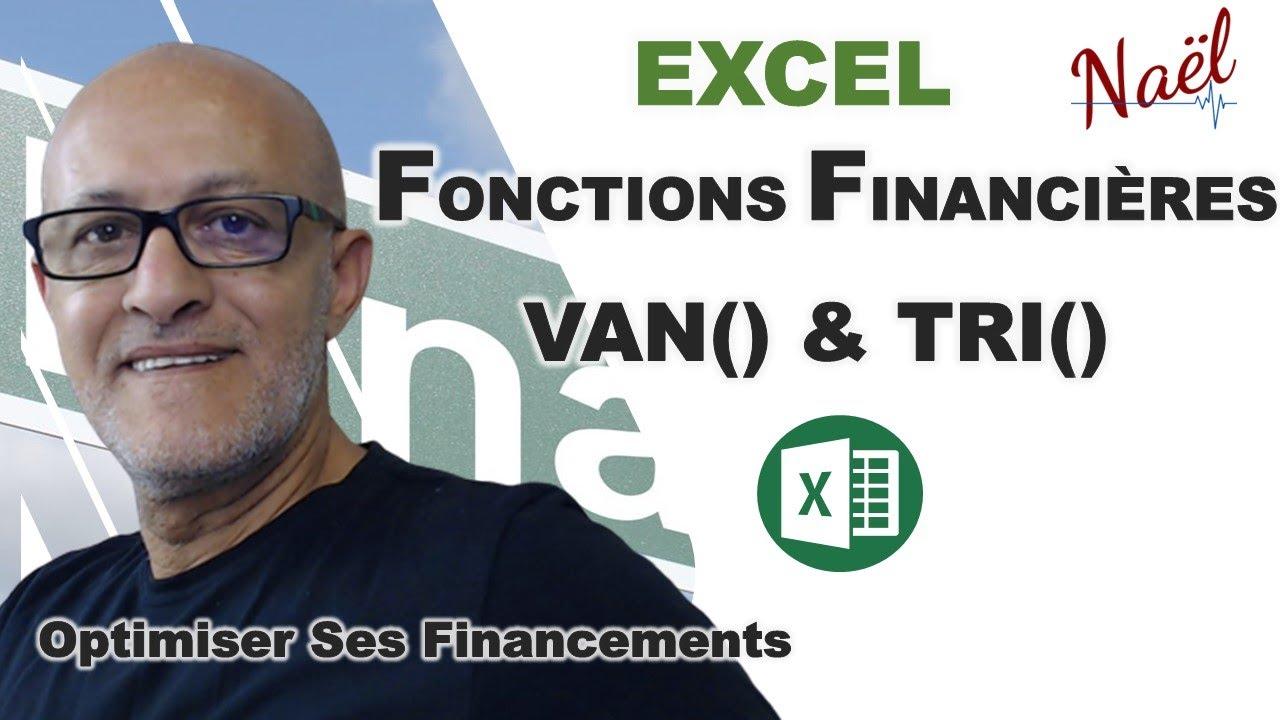 Excel Optimisation Financement Van Et Tri Youtube