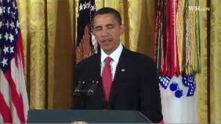 Obama Awards Medal Of Honor To Staff Sergeant Jared C. Monti