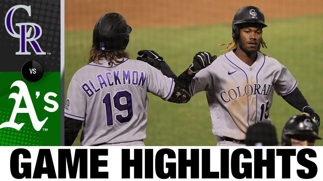 Balanced offense leads Rockies to 8-3 win   7/28/20
