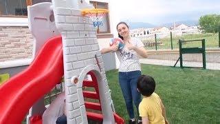 YENİ PİLSAN Bahçe Oyuncaklarımız Geldi - Bahçemiz Çocuk Parkı Gibi oldu! Bidünya Oyuncak