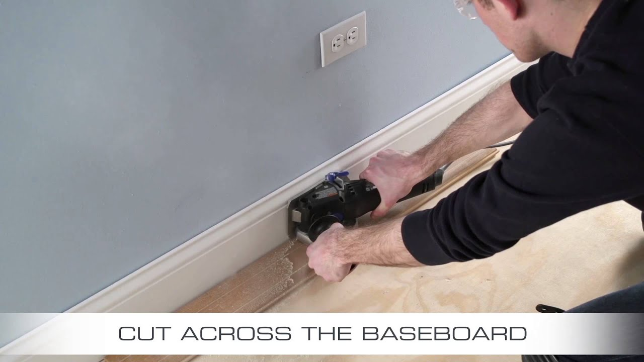 Wall To Flush Cut Saws : How to flush cut baseboard with dremel us ultra saw
