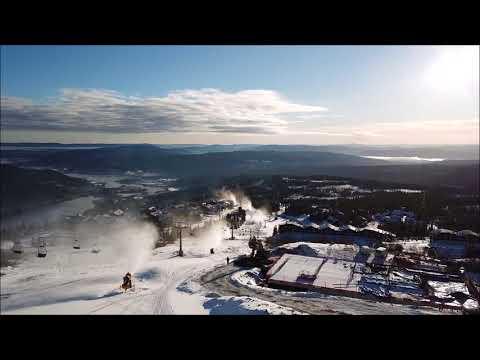 snølegging 2017 drone