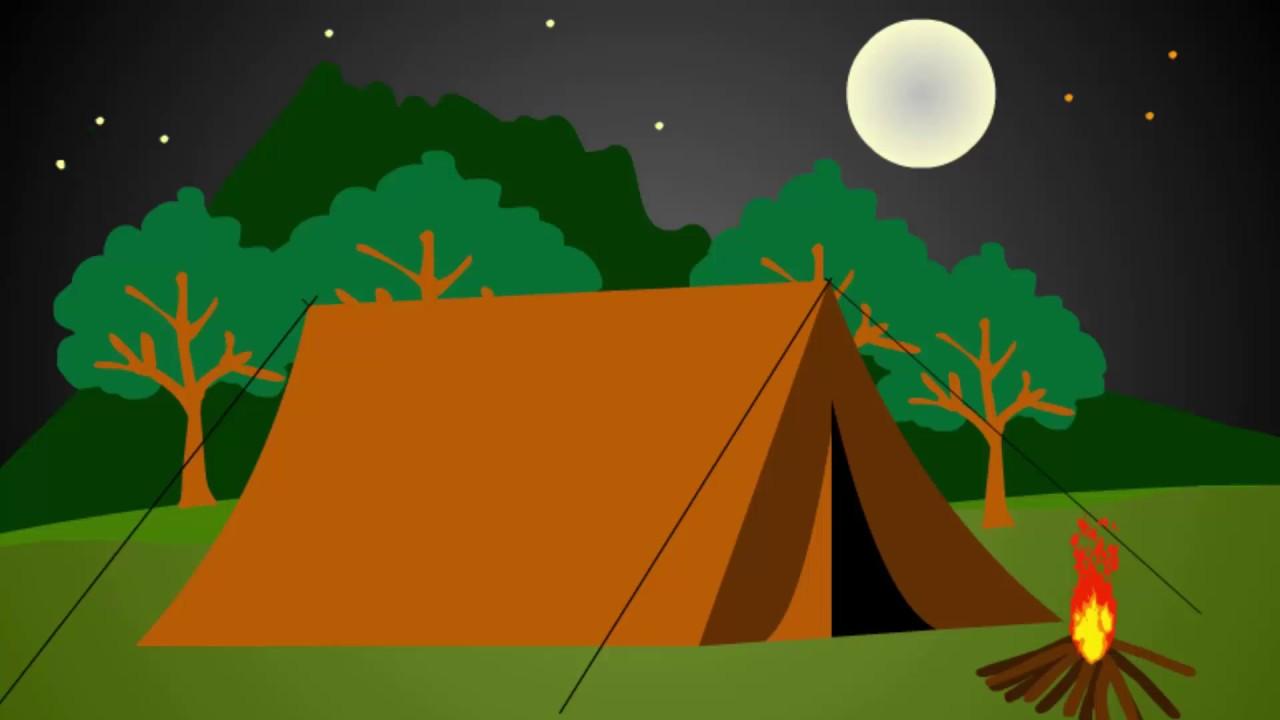 Buat Animasi Api Unggun Dan Gambar Tenda Perkemahan Dengan Adobe Flash CS6